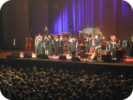 fim do concerto